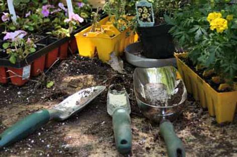 Bahçe aletleri