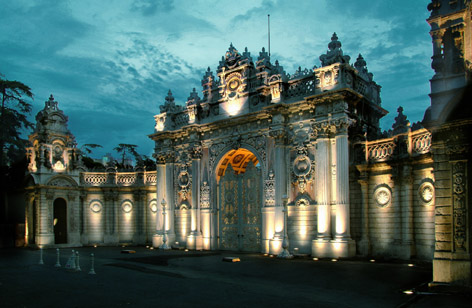 Dolmabahçe Sarayı Saltanat Kapısı