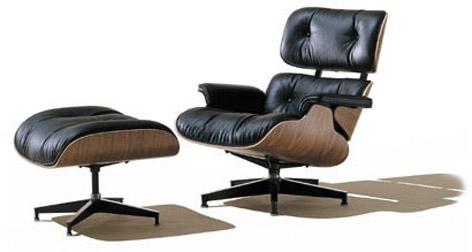Eames Lounge chair ve pufu
